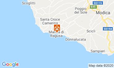 Karte Marina di Ragusa Villa 118895