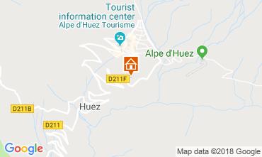 Karte Alpe d'Huez Appartement 117471