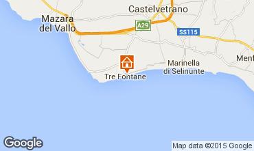 Karte Tre Fontane Haus 49021