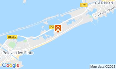 Karte Palavas-les-Flots Appartement 67533