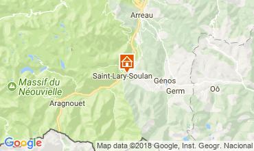 Karte Saint Lary Soulan Ferienunterkunft auf dem Land 112160