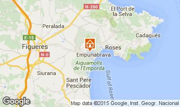 Karte Empuriabrava Appartement 98696