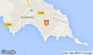 Karte Quiberon Appartement 68871