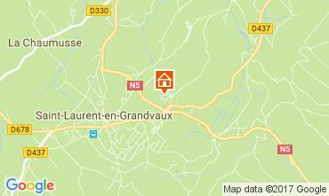 Karte Les Rousses Appartement 66948