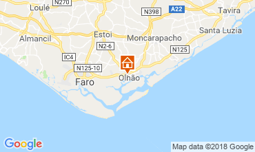 Karte Olhão Haus 116810