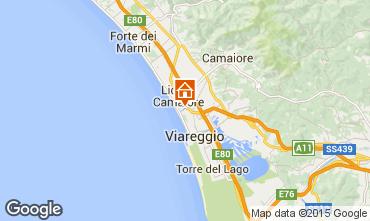 Karte Viareggio Appartement 44861