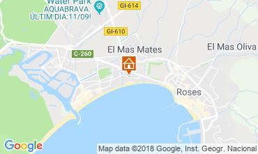 Karte Rosas Appartement 96892