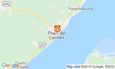 Karte Playa del Carmen Studio 116454