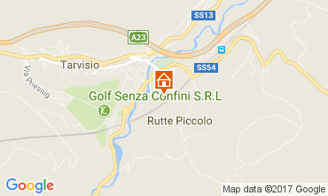 Karte Tarvisio Chalet 111451