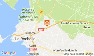 Karte La Rochelle Haus 114607