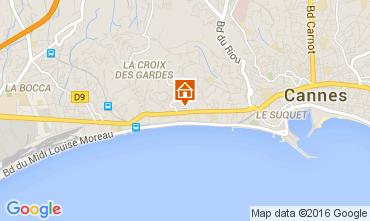 Karte Cannes Appartement 88211