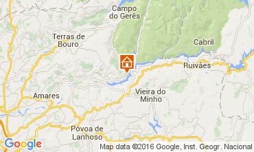 Karte Terras de Bouro Villa 84766