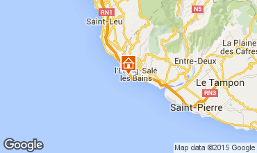 Karte Etang Sal� - Avirons Villa 94547
