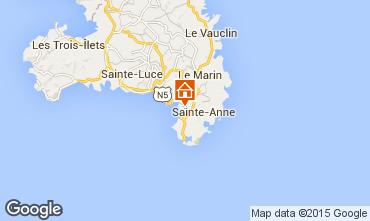 Karte Sainte Anne (Martinique) Studio 84011