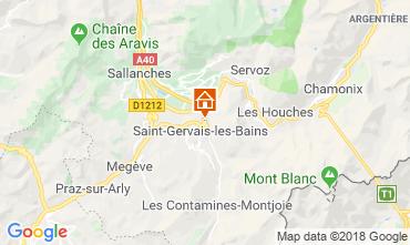 Karte Saint-Gervais-les-Bains Appartement 117068