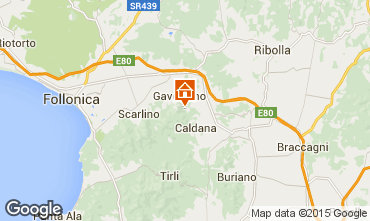 Karte Gavorrano Villa 80762