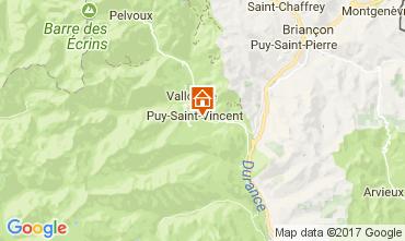 Karte Puy Saint Vincent Appartement 112746
