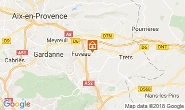 Karte Aix en Provence Villa 113762