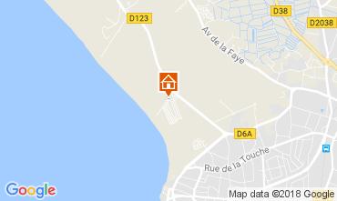 Karte Saint-Gilles-Croix-de-Vie Mobil-Home 22187