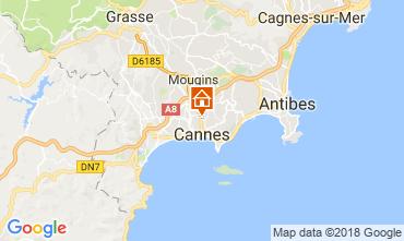Karte Cannes Appartement 114415