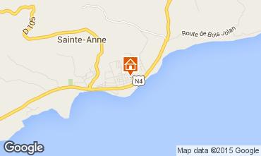 Karte Sainte Anne (Guadeloupe) Appartement 66397
