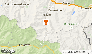 Karte Valloire Appartement 3378