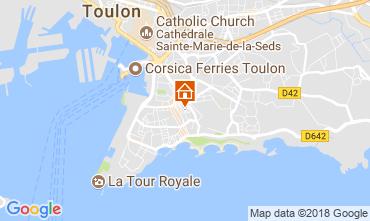 Karte Toulon Appartement 113649