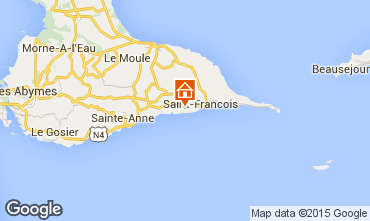 Karte Saint Francois Villa 81102