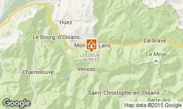 Karte Les 2 Alpes Appartement 1168
