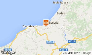 Karte Valledoria Appartement 69703