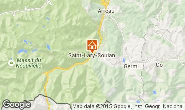 Karte Saint Lary Soulan Appartement 4508