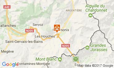 Karte Chamonix Mont-Blanc Appartement 647