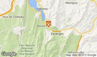 Karte Annecy Ferienunterkunft auf dem Land 101226
