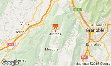 Karte Autrans Studio 43568