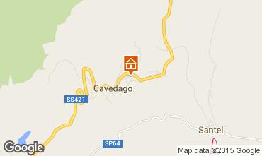 Karte Andalo - Fai della Paganella Appartement 58659