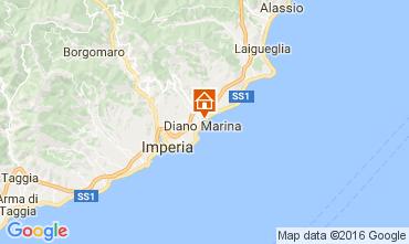 Karte Diano Marina Appartement 106973