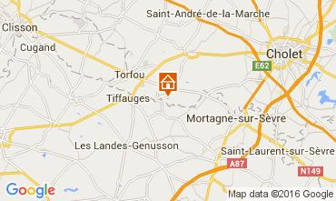 Karte Le Longeron Ferienunterkunft auf dem Land 13069