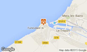 Karte Le Tréport Haus 16976