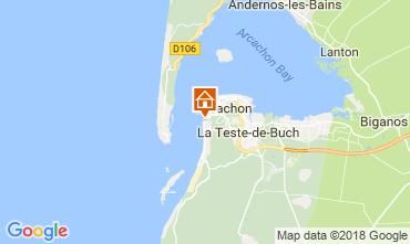 Karte Arcachon Villa 114512