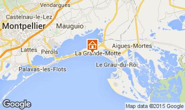 Karte La Grande Motte Studio 67260