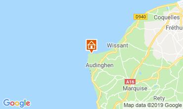 Karte Audinghen Villa 102925