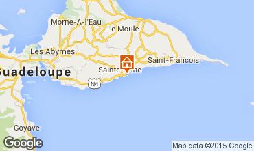 Karte Sainte Anne (Guadeloupe) Appartement 8021