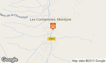 Karte Les Contamines Montjoie Appartement 90508
