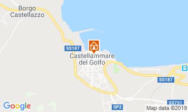 Karte Castellammare del Golfo Appartement 77385