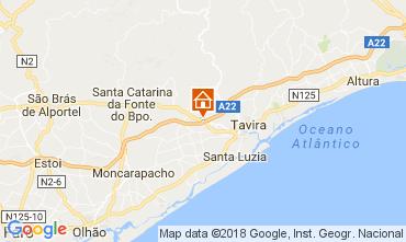 Karte Tavira Ferienunterkunft auf dem Land 113317