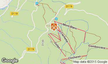 Karte Les Arcs Chalet 320
