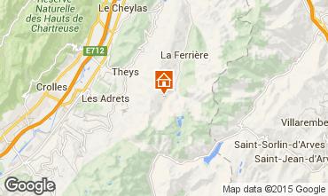 Karte Les Sept Laux Studio 48702