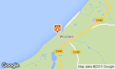 Karte Wissant Appartement 67786