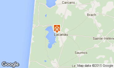 Karte Lacanau Haus 44203