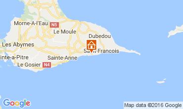 Karte Saint Francois Studio 73904